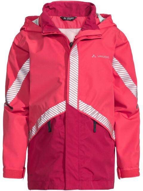 VAUDE Luminum II Jacket Kids bright pink